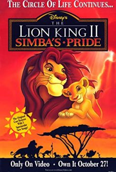 Aslan Kral 2: Simba'nin Onuru izle